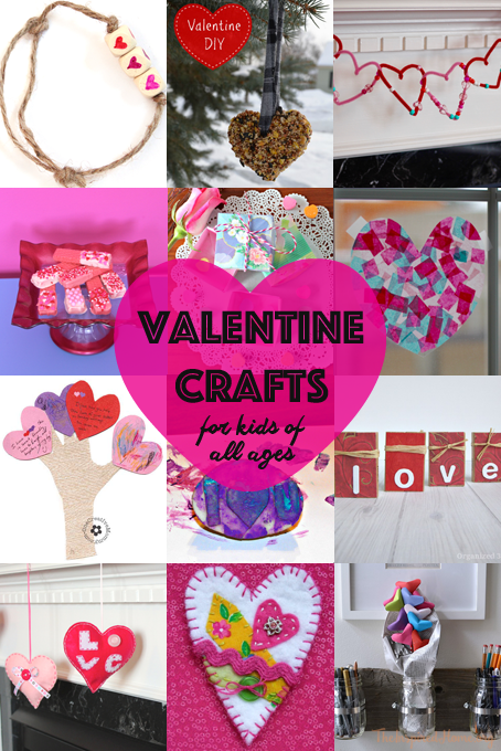 20 valentine 39 s day crafts for kids of all ages the for Fun crafts for all ages