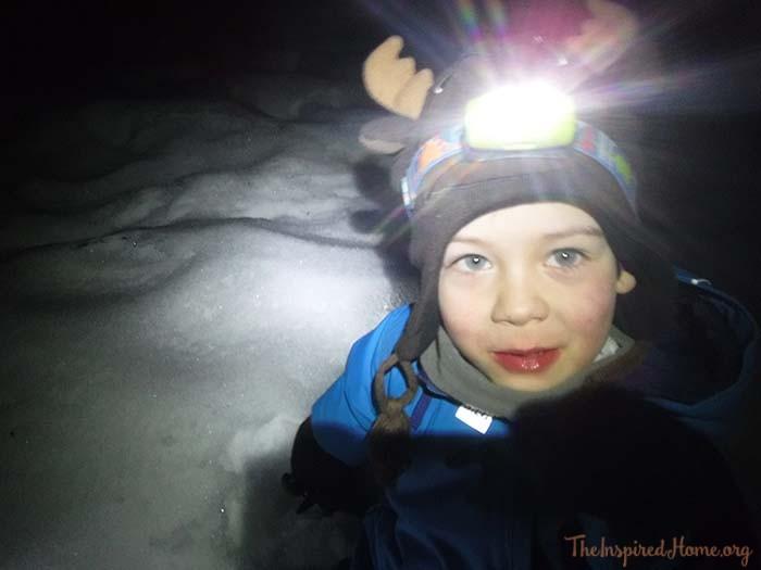 flashlight walk jan