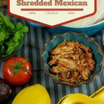 TheInspiredHome.org // Slow Cooker Shredded Mexican Chicken - great for leftovers!