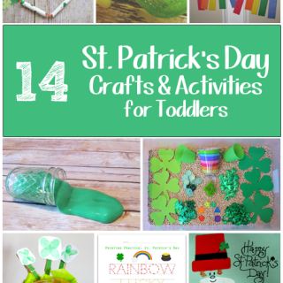 14 St. Patrick's Day Toddler Crafts & Activities Roundup
