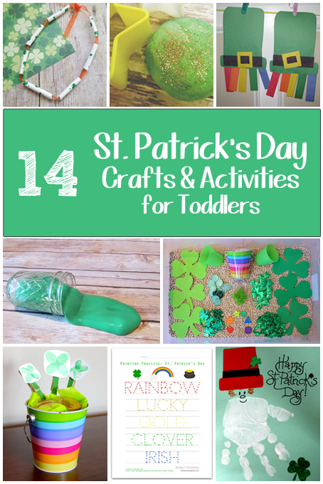 TheInspiredHome.org // 14 St. Patrick's Day Crafts and Activities for Toddlers & Preschool Kids