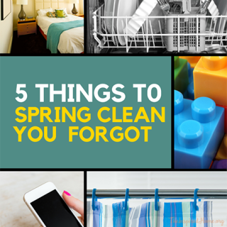 5 Things You Forgot to Spring Clean