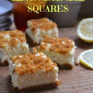 Lemon Crumble Squares