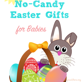 Easter easter crafts easter activities the inspired home 50 no candy easter gifts for babies negle Images