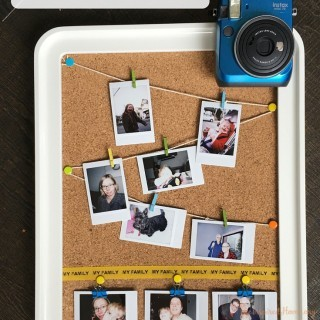 DIY Clothesline Photo Display for Kids