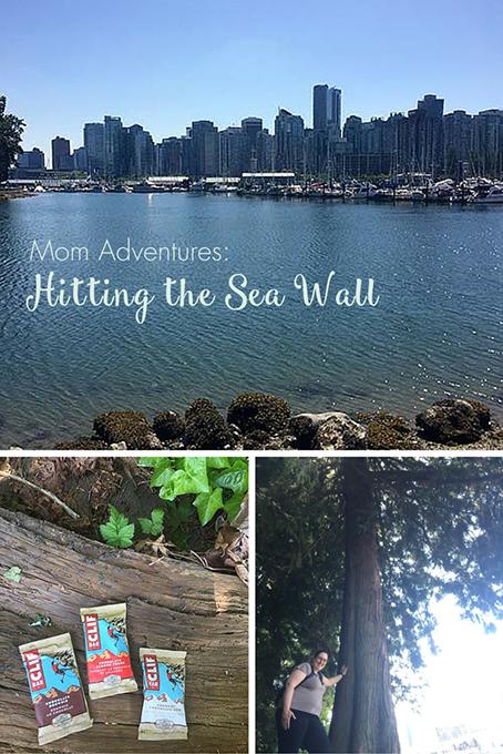 Mom Adventures Hitting the Sea Wall