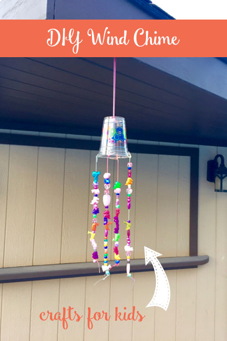 Diy beaded wind chime the inspired home for Wind chime craft projects