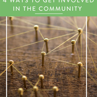4 Ways To Get Involved in the Community
