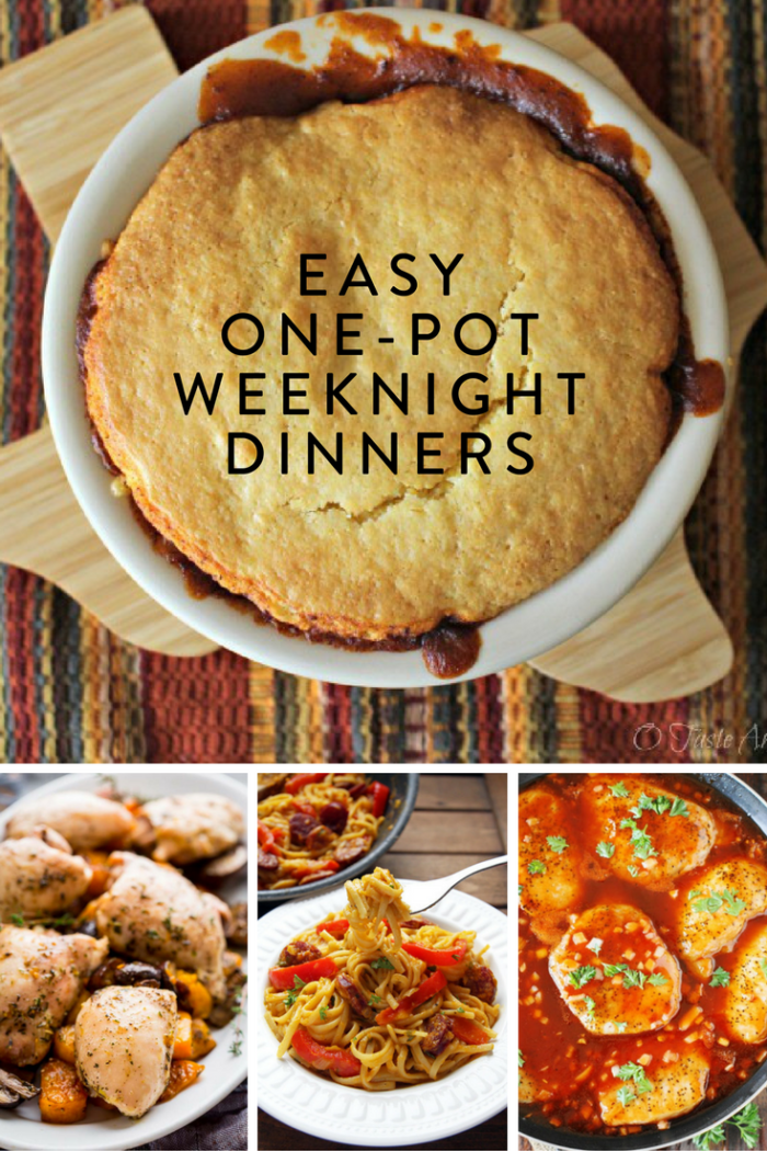 Easy One Pot Weeknight Dinners The Inspired Home