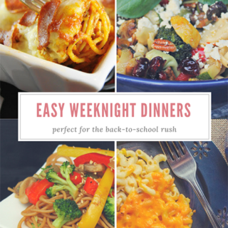 Easy Weeknight Dinner Recipes To Try