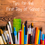 TheInspiredHome.org // Real Mom Survival Tips for the First Day of School - what you need to know to make that memorable day great for your child and yourself