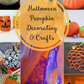 Halloween Pumpkin Decorating & Crafts