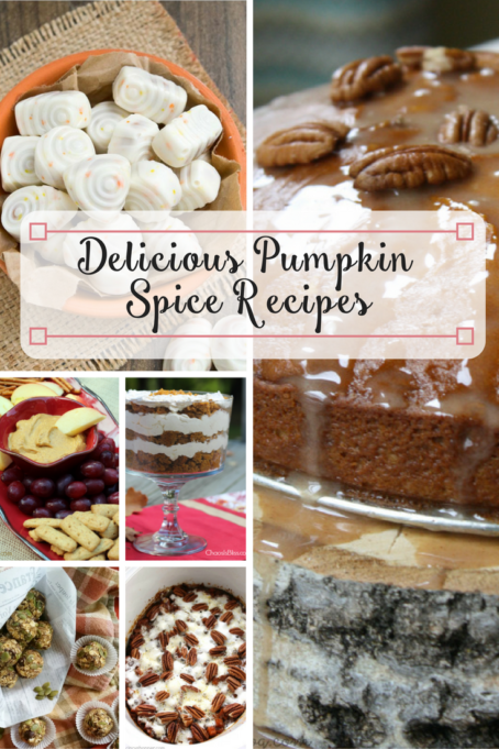 TheInspiredHome.org // Delicious Pumpkin Spice Recipes