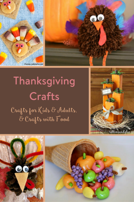 TheInspiredHome.org // Thanksgiving Crafts