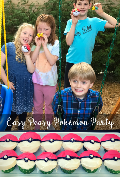 The Inspired Home // Easy Peasy Pokemon Party