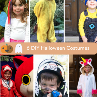 6 DIY Halloween Costumes