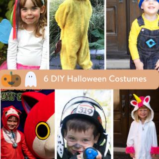 6 DIY Halloween Costumes