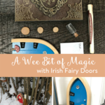 TheInspiredHome.org // A Wee Bit of Magic with Irish Fairy Doors. Be inspired and invite Irish Fairy Doors into your life for a wee bit of magic! Check out house fairy and nature fairy.