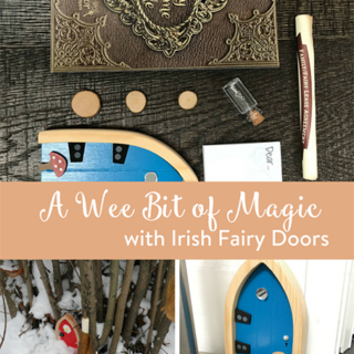 A Wee Bit of Magic with Irish Fairy Doors
