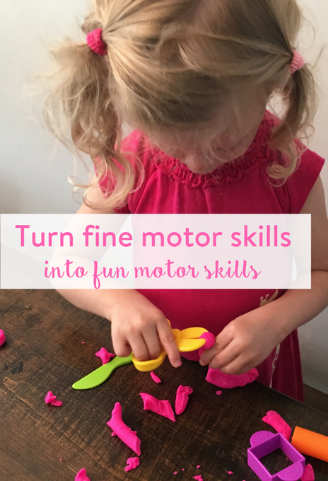 TheInspiredHome.org // Turn learning fine motor skills into fun motor skills using Play-Doh! Your kids will have no idea they are honing their fine motor skills.