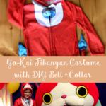 TheInspiredHome.org // Yo-Kai Jibanyan Costume with DIY Bell & Collar.