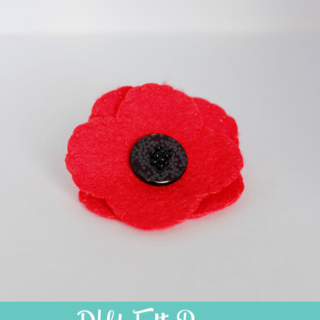 DIY Felt Poppy – Includes Free Template!