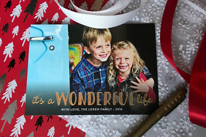 theinspiredhome.org // Personalized Holiday Cards. Minted Wonderful Life.