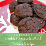 TheInspiredHome.org // Double Chocolate Mint Cookies Recipe