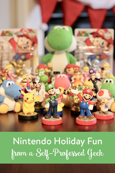 TheInspiredHome.org // Nintendo Holiday Fun - gifts for geeks