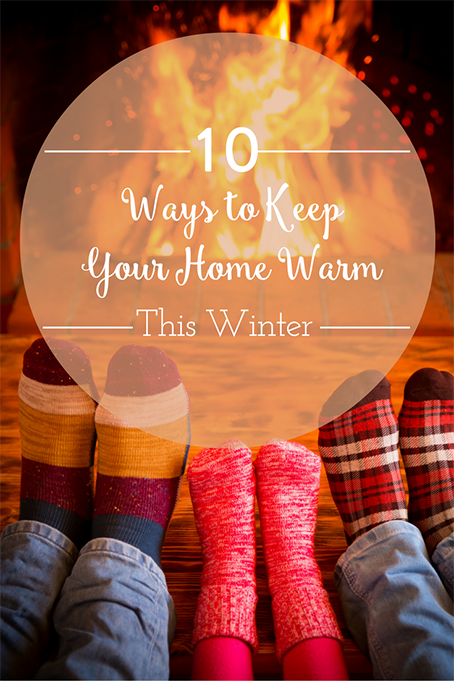 10 Ways To Keep Your Home Warm This Winter The Inspired Home