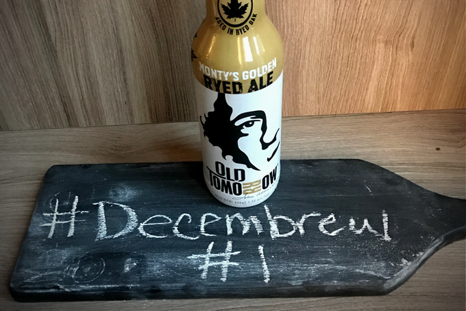 TheInspiredHome.org // DIY Beer Advent Calendar Dec 1