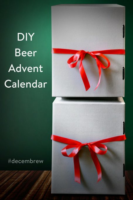TheInspiredHome.org // DIY Beer Advent Calendar