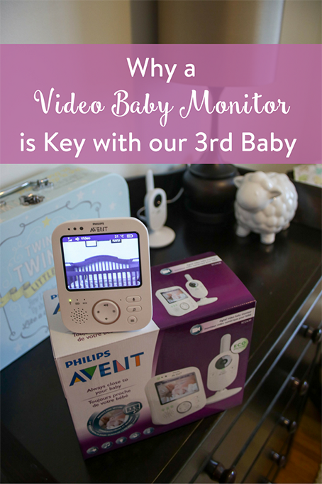 TheInspiredHome.org // Why a Video Baby Monitor is Key with our 3rd Baby