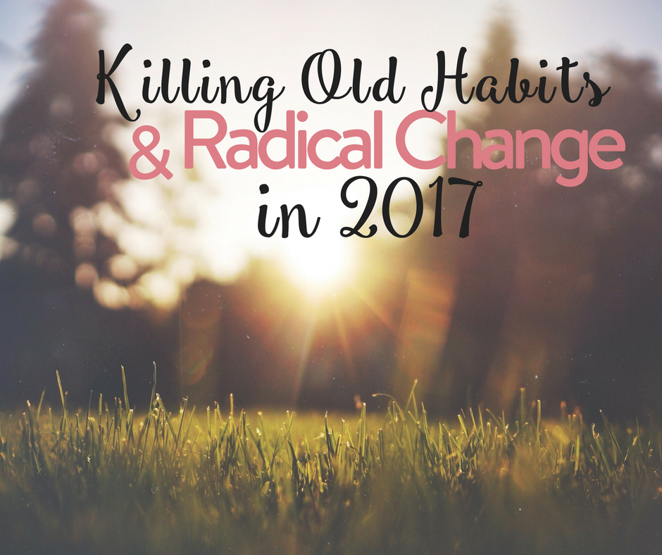 how to change old habits