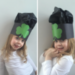 TheInspiredHome.org // St. Patrick's Day Clover Hat