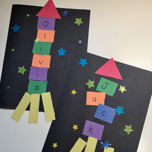 Outer Space Crafts For Toddlers