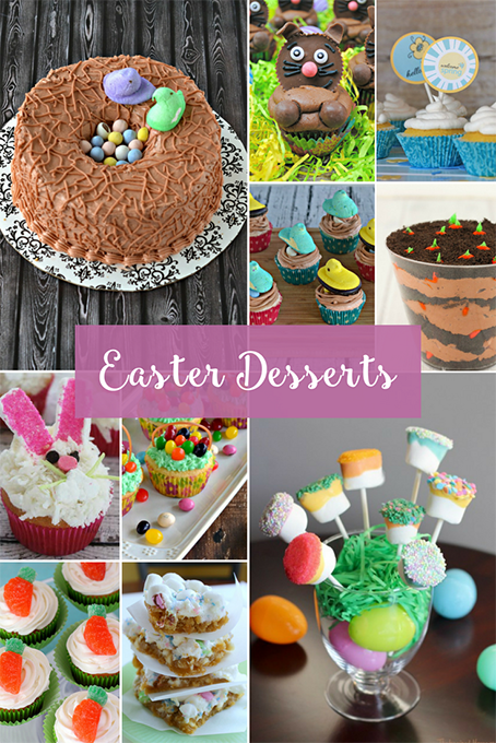 TheInspiredHome.org // Easter Desserts