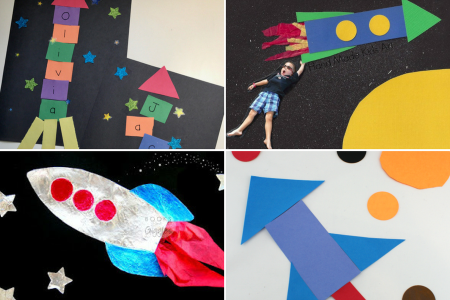 Space Crafts For Kids • The Inspired Home