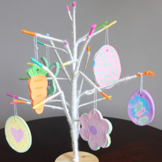 Easter Baking Soda Dough Ornaments