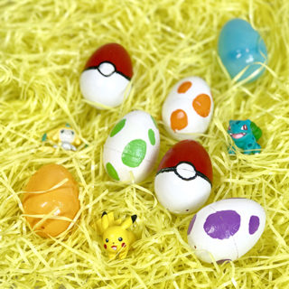 Pokemon Go Easter Eggs & Basket