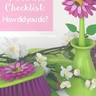 Spring Forward Checklist: How Did You Do?