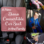 TheInspiredHome.org // A New Diono Convertible Car Seat in the Family