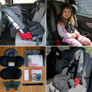 A New Diono Convertible Car Seat in the Family