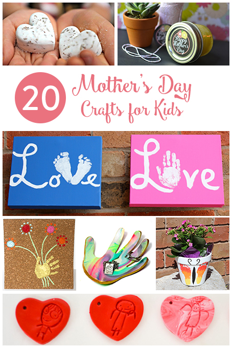 TheInspiredHome.org // 20 Mother's Day Crafts for Kids
