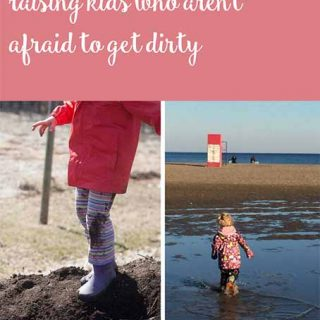 Risky play & raising kids that aren't afraid to get dirty