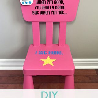 DIY Time Out Chair