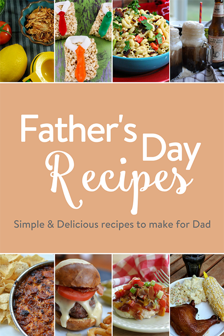 TheInspiredHome.org // Father's Day Recipes