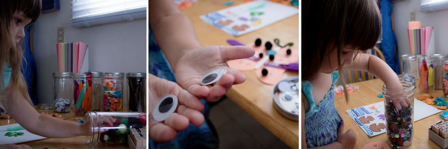 TheInsipredHome.org // How To Organize Craft Supplies
