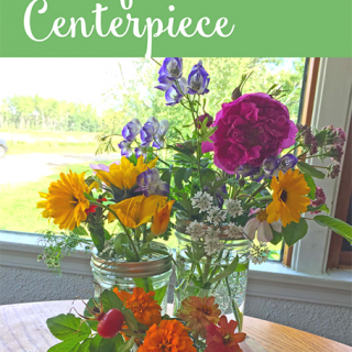 How to Make a Wildflower Centerpiece