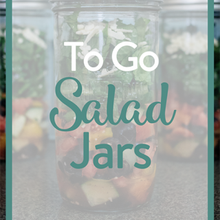 To Go Salad Jars